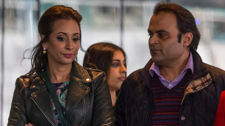 Radhika Oswal told the court she was strong armed by ANZ to sign the guarnatee to assume her husband's debts.