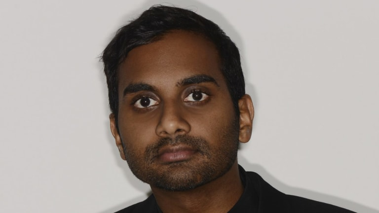 Aziz Ansari plays Dev Shah, an actor navigating his 30s in New York, in the TV show Master of None.