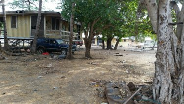 The township of Angurugu, where the brawl occurred on Friday.