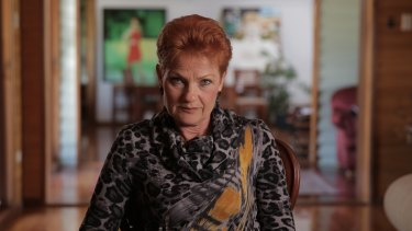 Pauline Hanson says media should not blame her or One Nation for the Gosford church incident.