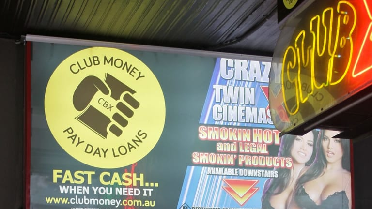 Mr Ross remains in a management position at Club Money Payday Loans.