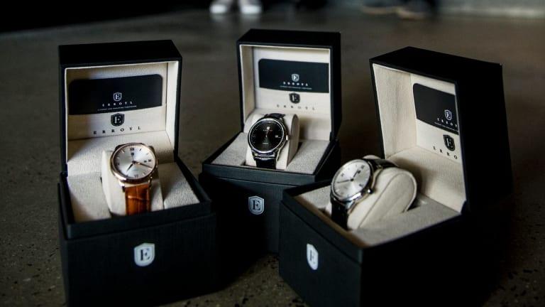 Erroyl watches.