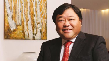 David Chiu is betting on Chinese gamblers to propel the growth of Queen's Wharf.