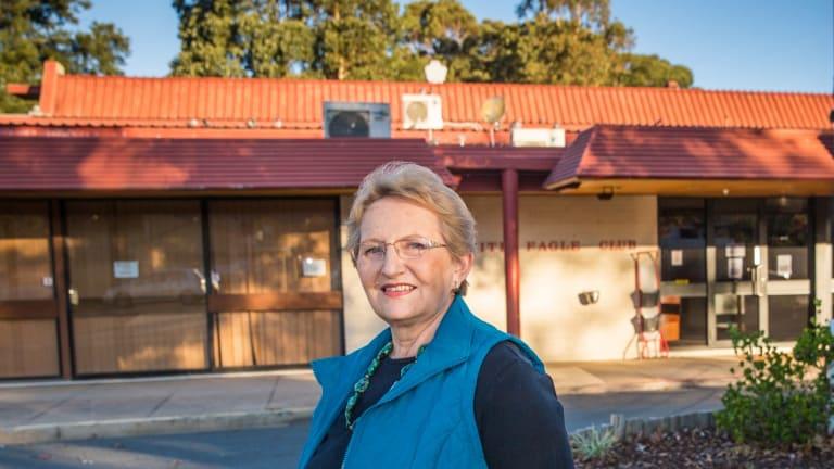 Polish Australian Club president Barbara Alwast.