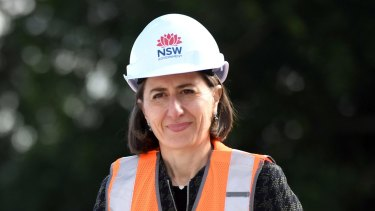 NSW Premier Gladys Berejiklian said the Beaches Link was in the early planning stages.