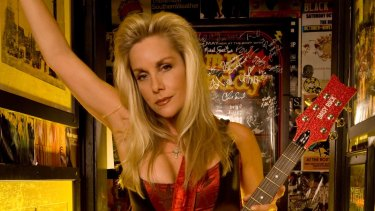 Cherie Currie fronted all-girl rock band the Runaways with Joan Jett.