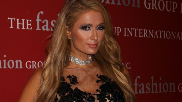 No frills Paris Hilton.