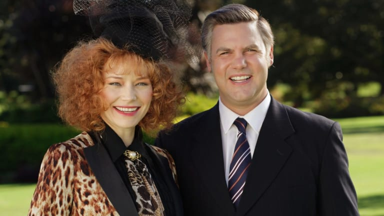 <i>House of Bond</i> stars Adrienne Pickering and Ben Mingay.