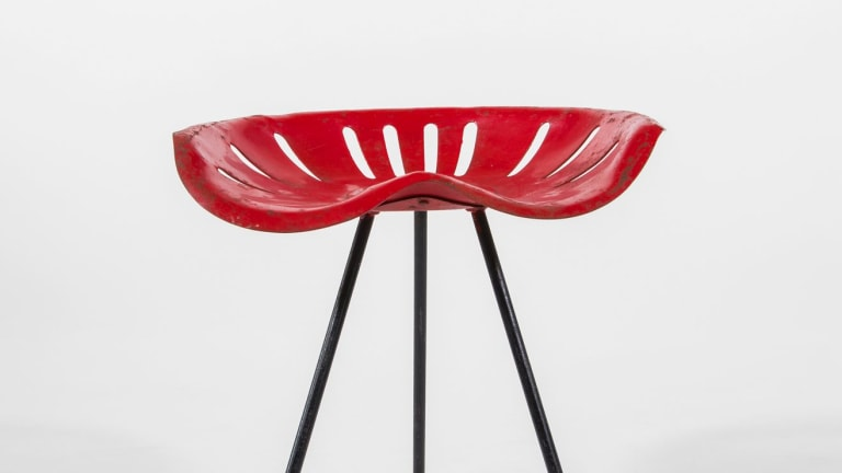 Tractor Stool, c1955. Meadmore's popular designs were readily copied.