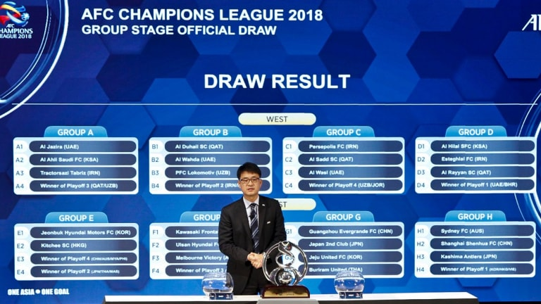 The ACL draw is announced in Malaysia on Wednesday.