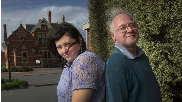 Arthur and Jacinda Eastham from Euroa have intellectual disabilities and live in public housing. They were recently signed up to diplomas they can't complete.