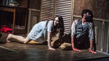 <i>Horror</I> has been described as 'a genuinely, persistently terrifying theatre show'.