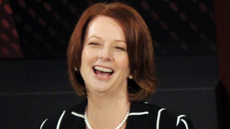 Julia Gillard gave the show its best one-liner to date.