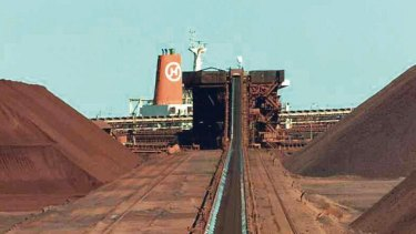 A rally in iron ore prices combined with a rise in oil helped push BHP Billiton to a three-month high.