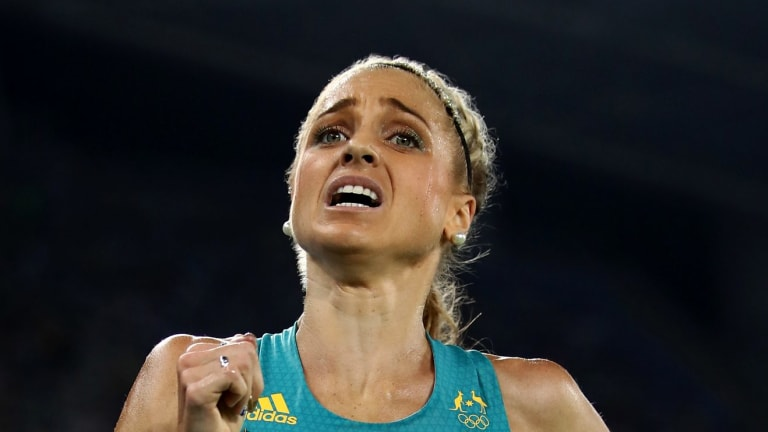 Breakout year: Genevieve Lacaze set her 15th personal best of 2016 when she finished sixth in the 3000m steeplechase at a Diamond League meet in Paris.