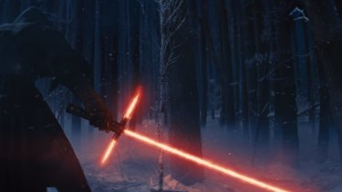 The new lightsaber that features in the trailer for The Force Awakens inspired much comment among Star Wars fans.