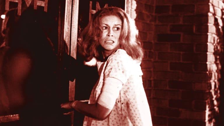 Jamie Lee Curtis in the original <i>Halloween</i>.