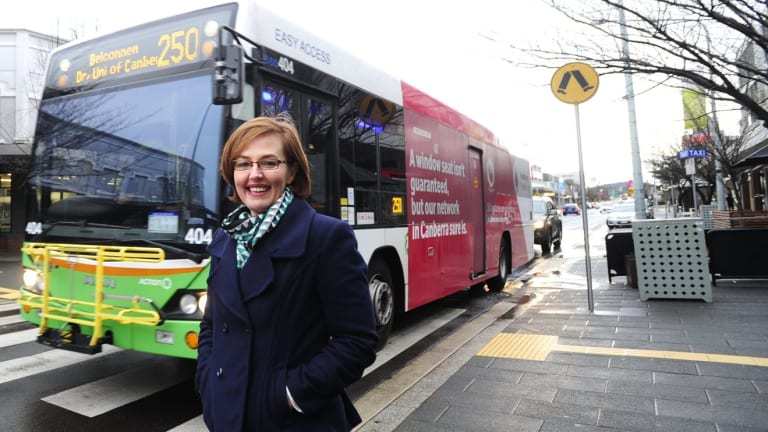 Transport and Municipal Services Minister Meegan Fitzharris.