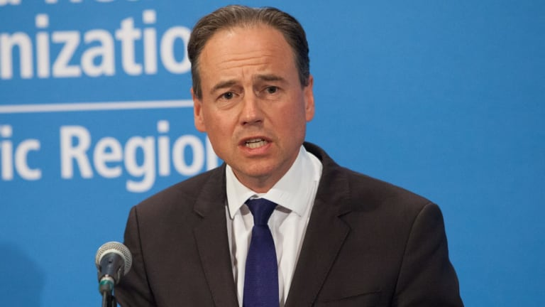 Health Minister Greg Hunt says the government is against a soft drinks tax.