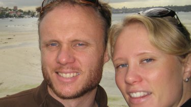 Adam Salter with his sister Zarin.