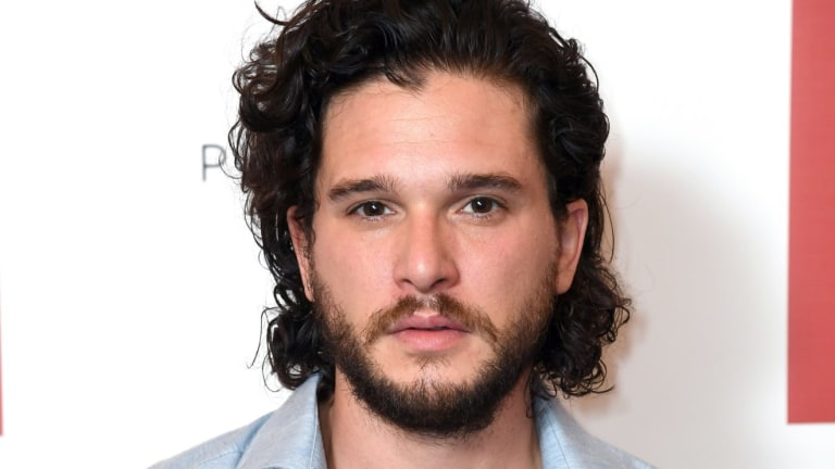Kit Harington attending a preview of new BBC drama Gunpowder.
