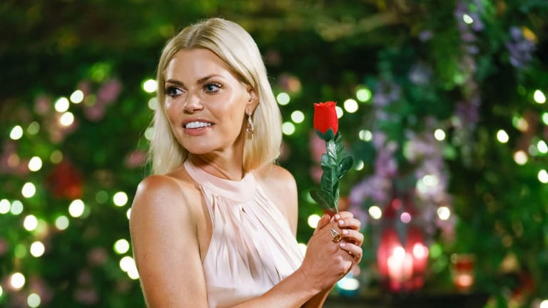Sophie Monk on the first episode of The Bachelorette season three.