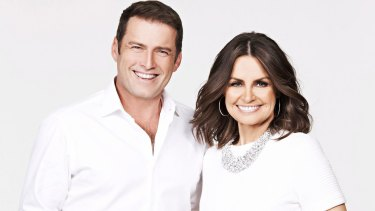 Karl Stefanovic and Lisa Wilkinson have hosted Today together for 10 years.