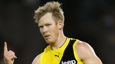 Jack Riewoldt returns to the Richmond leadership group.