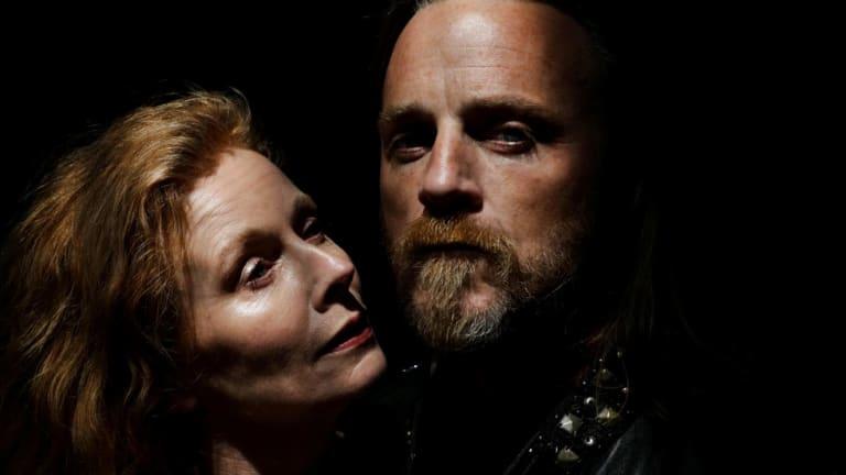 Alison Whyte andNathaniel Dean in <i>Macbeth</i>.