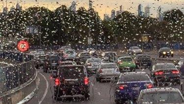 Victoria is spending $1 billion widening CityLink.