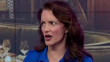 Kristin Davis didn't object to talking about <i>Sex and the City</i>, but the scene they'd sprung on her live on air.