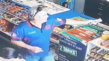 Mr Johnson was last seen at a service station near Esperance on Monday.