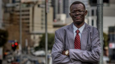 Lawyer Kot Monoah is the new leader of the South Sudanese Community Association of Victoria and wants to ensure young Sudanese stay in education.
