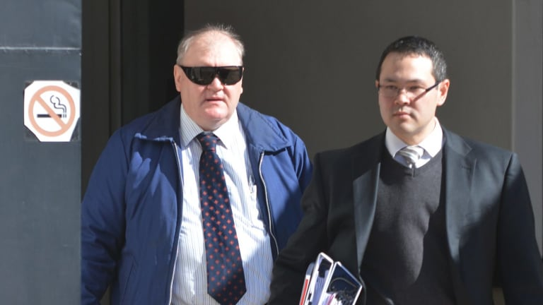 John Joseph Farrell (left) during a previous hearing.