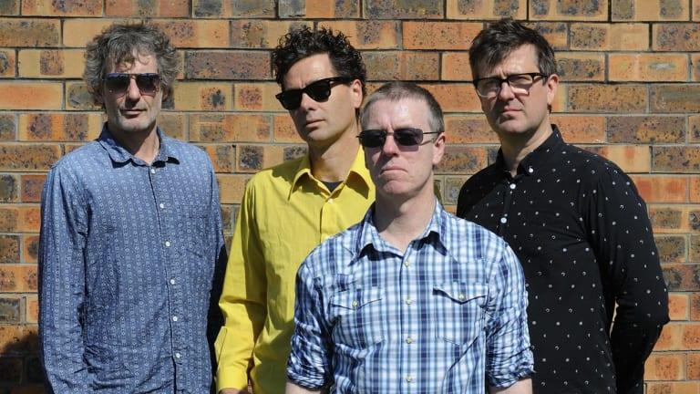 Custard (Matthew Strong, Glenn Thompson, Paul Medew and David McCormack).