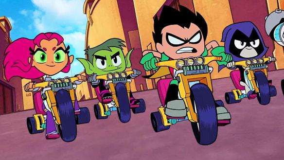 Teen Titans: Superheroes make pre-teens of us all