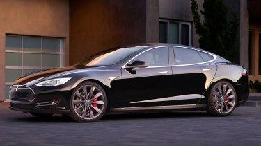 Tesla's Model S has autopilot functions.