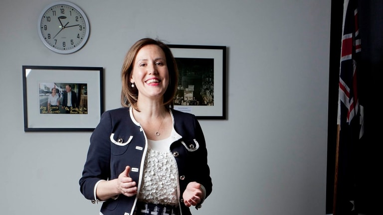 """Kelly O'Dwyer: """"There are lots of very good female colleagues of mine who are ripe for promotion."""""""