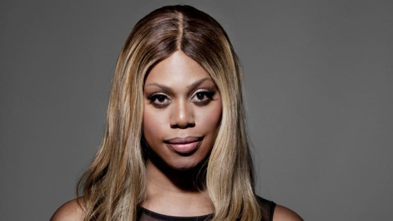 Laverne Cox from <i>Orange Is the New Black.</i>