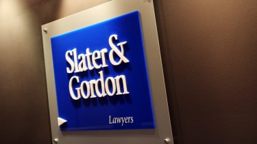 Slater & Gordon has been suspended from trading until it reports its interim financial results on Monday.