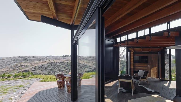 Estudio Carme Pinos' Rio Blanco Pavilion, a one-bedroom house outside Guadalajara in Mexico.
