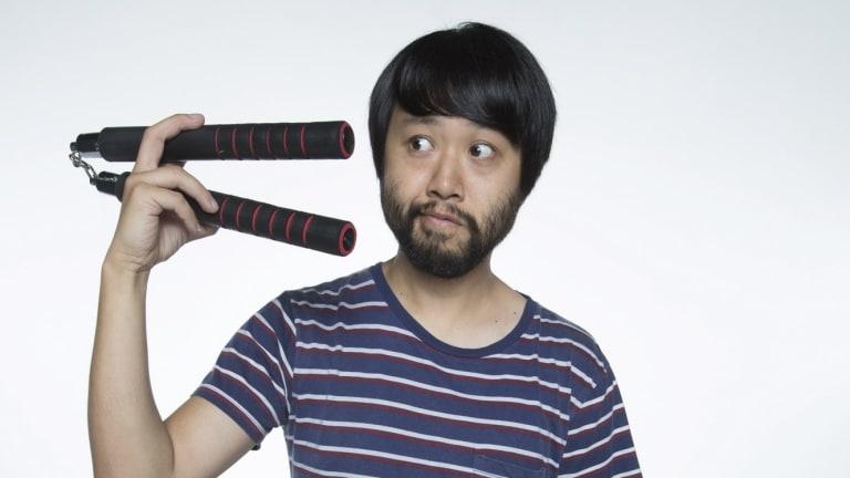 Stickability: <i>Maximum Choppage</i> co-writer and star Lawrence Leung.