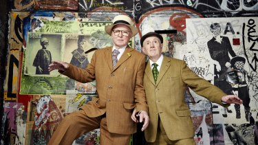 Gilbert Prousch and George Passmore, aka Gilbert & George, met in 1967 at St Martin's School of Art and have been shocking the establishment ever since.