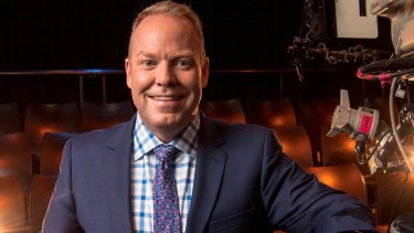 Busy man: Peter Helliar now has major roles in three different shows on Ten.