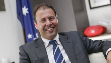 Read my lips: Josh Freydenberg has reiterated that 'there will be no increase in the GST or broadening of the base'.