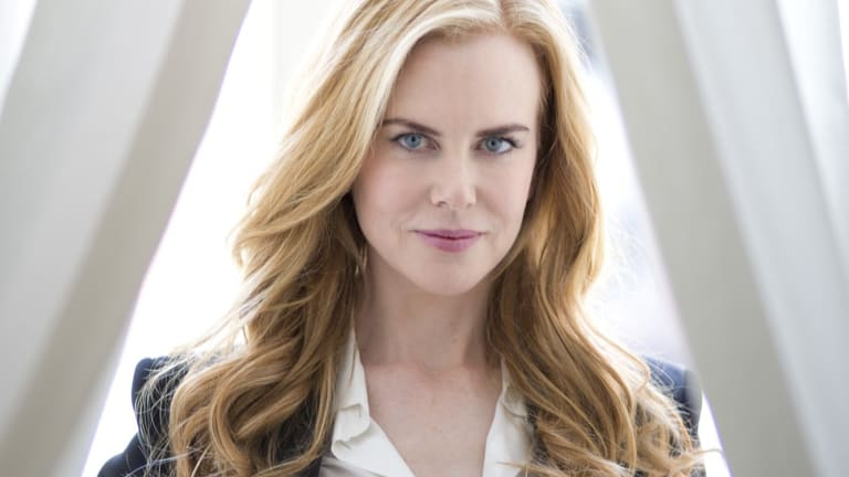 Nicole Kidman has flown to Sydney to begin shooting Top of The Lake: China Girl with Golden Globe award winner Elisabeth Moss.