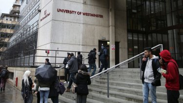 Islamic State militant Mohammed Emwaz, a Kuwaiti-born British man,  attended the University of Westminster studying computer programming.