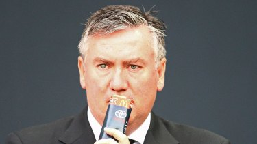 Out of action: Eddie McGuire will take a break from broadcasting.