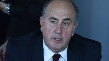 Treasury Department secretary John Fraser