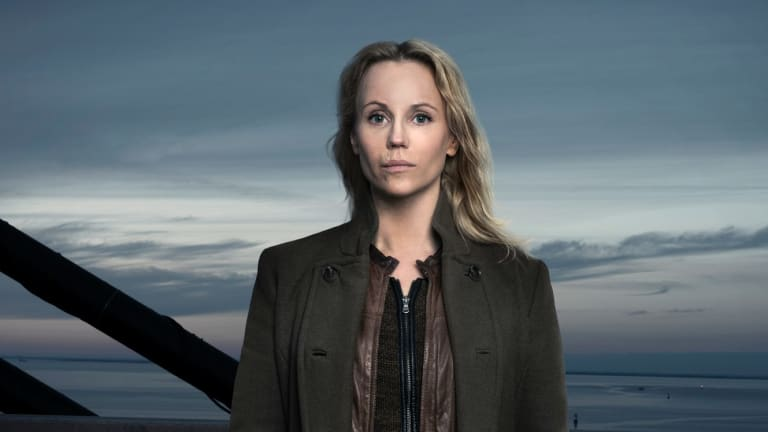 Sofia Helin stars in The Bridge.